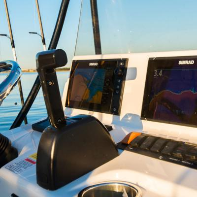 Blackjack Boats Steering Navigation